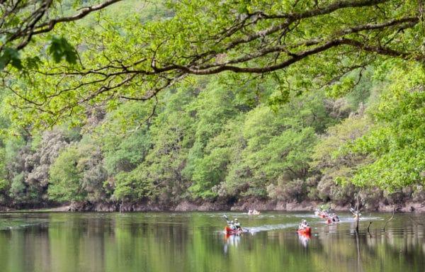 Actividad de aventura en Kayak, Norte de Galicia