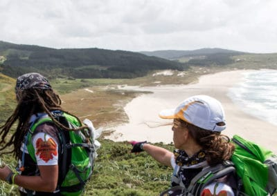 Actividad de aventura de Senderismo en el Norte de Galicia